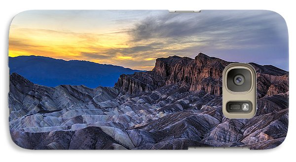 Zabriskie Point Sunset Galaxy S7 Case