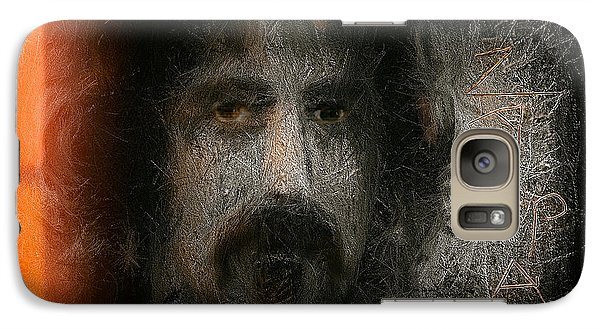 Galaxy Case featuring the painting Zappa-the Deathless Horsie by Michael Cleere