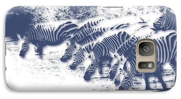 Zebra 3 Galaxy Case by Joe Hamilton