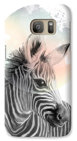 Zebra Galaxy S7 Case - Zebra // Dreaming by Amy Hamilton