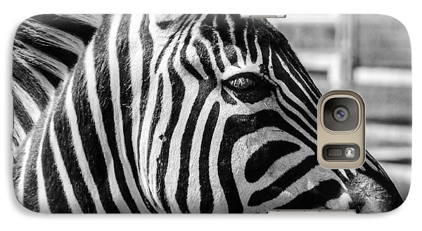 Galaxy Case featuring the photograph Zebra by Geraldine Alexander