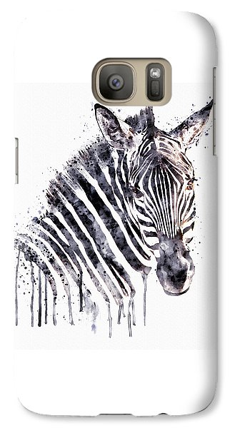 Zebra Head Galaxy Case by Marian Voicu