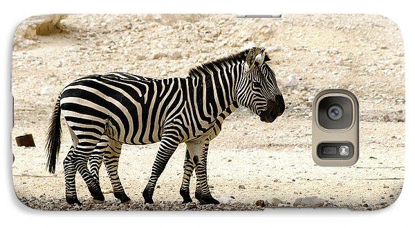 Galaxy Case featuring the photograph Zebra Mix  02 by Arik Baltinester