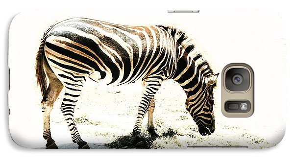 Galaxy Case featuring the photograph Zebra Stripes by Stephen Mitchell