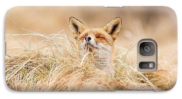 Zen Fox Series - Zen Fox 2.7 Galaxy Case by Roeselien Raimond