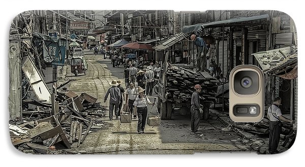 Galaxy Case featuring the photograph Zhangjiajie Ancient Town by Wade Aiken