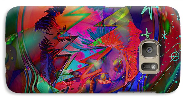 Galaxy Case featuring the painting Ziggy  by Kevin Caudill