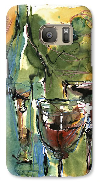 Galaxy Case featuring the painting Zin-findel by Robert Joyner
