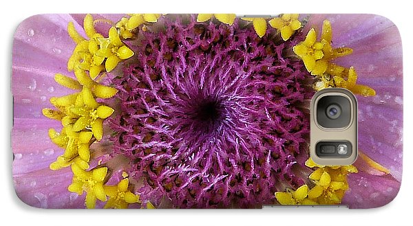 Galaxy Case featuring the photograph Zinnia by Geraldine Alexander