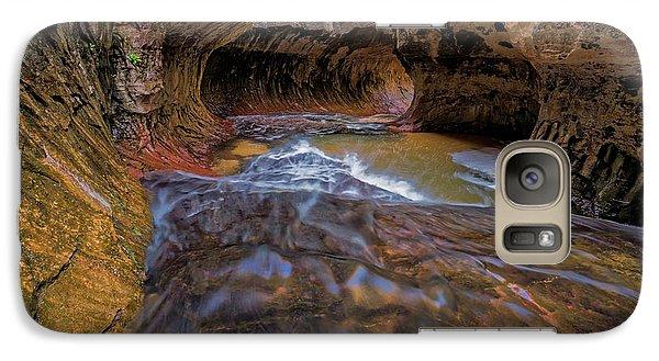 Galaxy Case featuring the photograph Zion Subway by Jonathan Davison
