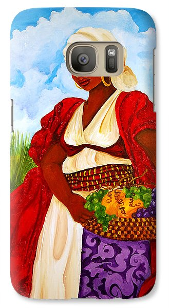 Galaxy Case featuring the painting Zipporah by Diane Britton Dunham