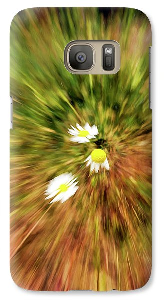 Galaxy Case featuring the digital art Zooming In Or Zooming Out by James Steele