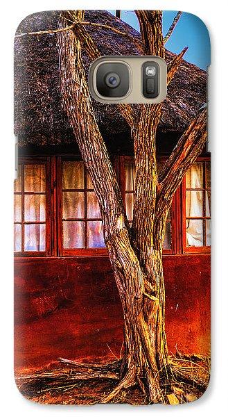 Galaxy Case featuring the photograph Zulu Hut by Rick Bragan
