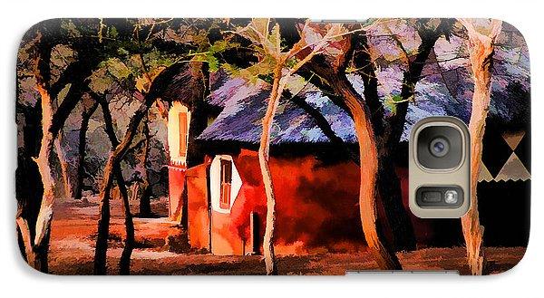 Galaxy Case featuring the photograph Zulu Sunset by Rick Bragan