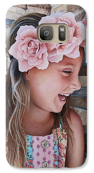 Galaxy Case featuring the painting Zuri Painting by Mike Ivey