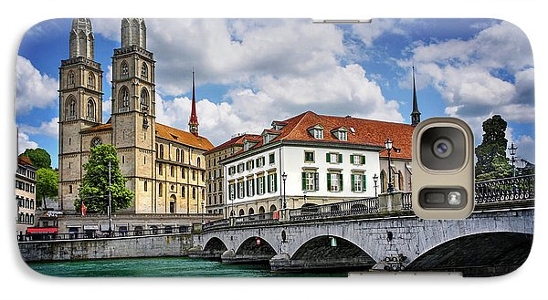 Galaxy Case featuring the photograph Zurich Old Town  by Carol Japp