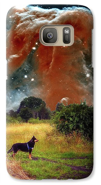 Galaxy S7 Case featuring the photograph Aspiring Lunar Rover Outer Space Image by Bill Swartwout Fine Art Photography