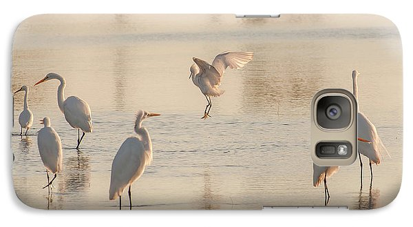 Ballet Of The Egrets Galaxy S7 Case