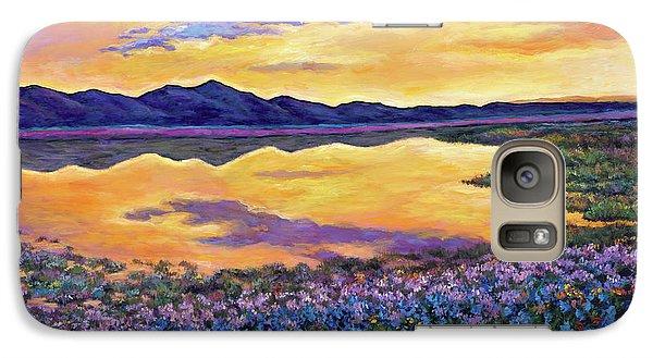 Realistic Galaxy S7 Case - Bluebonnet Rhapsody by Johnathan Harris