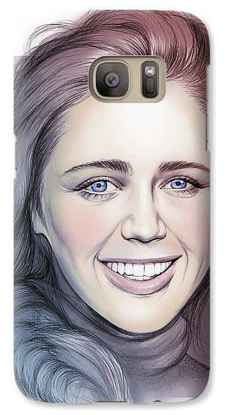 Daisy Galaxy S7 Case - Daisy Head by Greg Joens