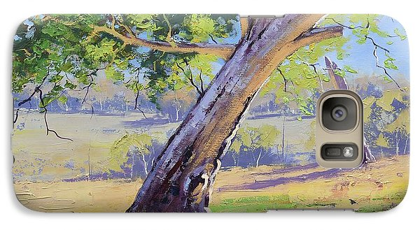 Realistic Galaxy S7 Case - Eucalyptus Tree Australia by Graham Gercken