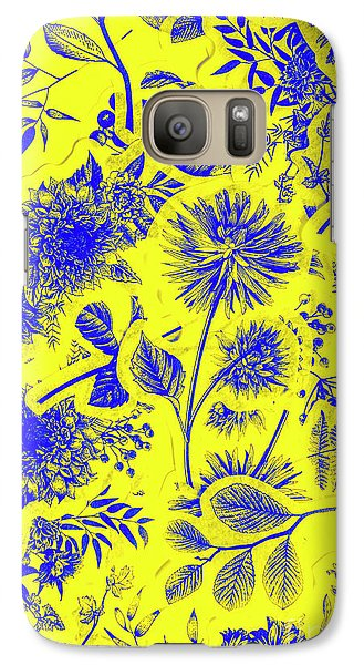 Orchid Galaxy S7 Case - Flora And Foliage by Jorgo Photography - Wall Art Gallery