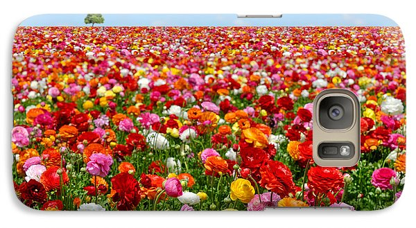 Pasture Galaxy S7 Case - Flowers Field by Orientaly