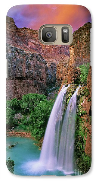 Colours Galaxy S7 Case - Havasu Falls by Inge Johnsson