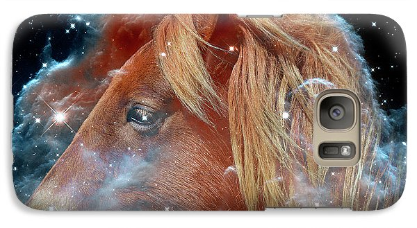 Galaxy S7 Case featuring the photograph Horsehead Nebula With Horse Head Outer Space Image by Bill Swartwout Fine Art Photography