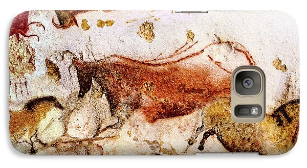 Lascaux Cow And Horses Galaxy S7 Case
