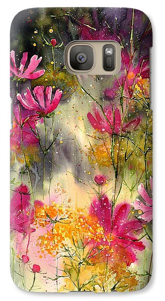Orchid Galaxy S7 Case - Pink Ballerinas by Suzann's Art