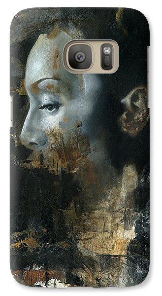 Realistic Galaxy S7 Case - Rite Of Saturn by Patricia Ariel