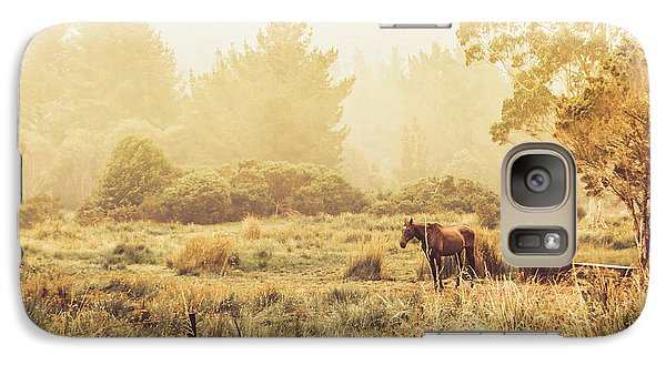 Pasture Galaxy S7 Case - Stallion Homestead by Jorgo Photography - Wall Art Gallery
