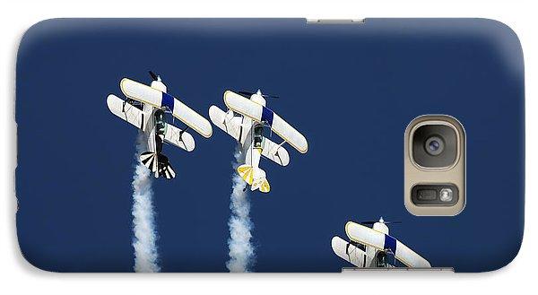 Airplanes Galaxy S7 Case - Three Aerobatic Aeroplanes Flying by Johan Swanepoel