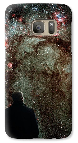 Galaxy S7 Case featuring the photograph To Boldly Go Where No Man Has Gone Before by Bill Swartwout Fine Art Photography