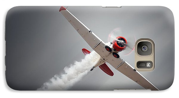 Airplanes Galaxy S7 Case - Vintage Airplane At High Speed by Johan Swanepoel