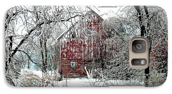Pasture Galaxy S7 Case - Winter Wonderland by Julie Hamilton