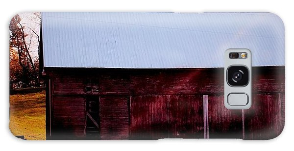 Autumn Barn Galaxy Case