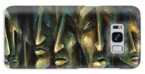 Figurative Galaxy Case -  ' Jury Of Eight ' by Michael Lang