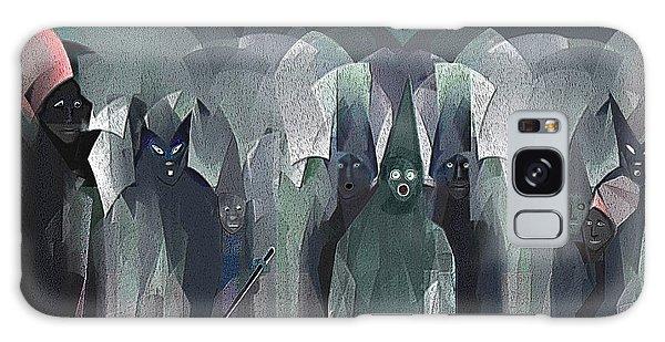 001 - Nightwalkers Dark ... Galaxy Case by Irmgard Schoendorf Welch