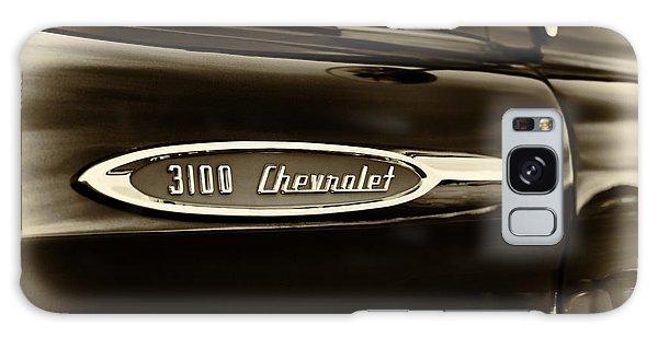 3100 Chevrolet Truck Sepia Galaxy Case by Tim Gainey