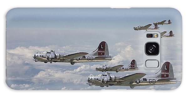 Ww2 Galaxy Case -  381st Group Outbound by Pat Speirs