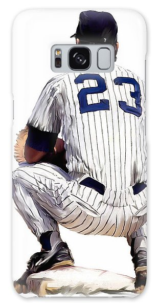 A Moment To Remember II Don Mattingly  Galaxy Case by Iconic Images Art Gallery David Pucciarelli