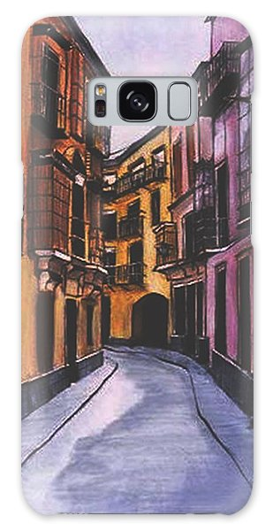 A Street In Seville Spain Galaxy Case