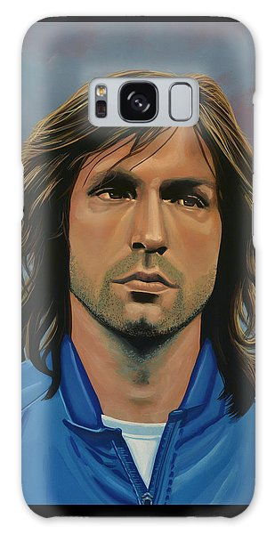 Sportsman Galaxy Case -  Andrea Pirlo by Paul Meijering
