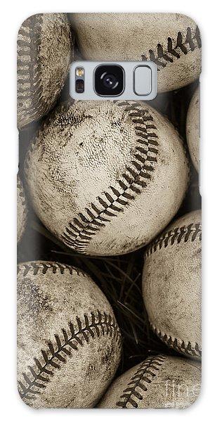 Still Galaxy Case -  Baseballs by Diane Diederich