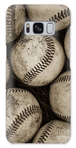 Galaxy Case -  Baseballs by Diane Diederich