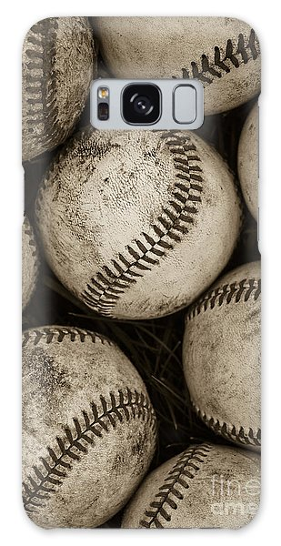 Baseballs Galaxy Case