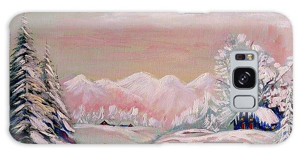 Beautiful Winter Fairytale Galaxy Case