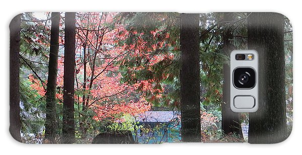 Beauty Through The Trees Galaxy Case by Joyce Gebauer